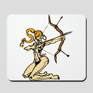 Female Archer Mousepad