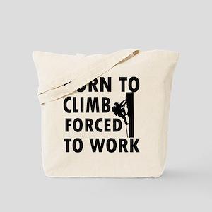 Born to Climb Tote Bag