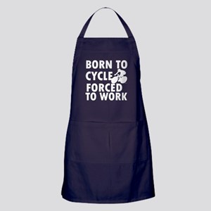 Born to Cycle Apron (dark)