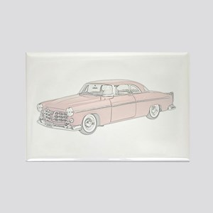 Chrysler C300 1955 -colored Rectangle Magnet