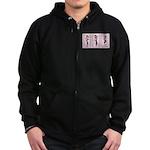 Tri Hard Zip Hoodie (dark)