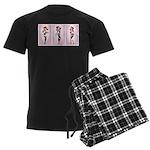Tri Hard Men's Dark Pajamas
