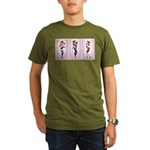 Tri Hard Organic Men's T-Shirt (dark)