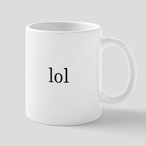 because it's funny {x2} Mug
