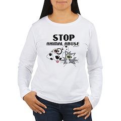 Stop Animal Abuse - T-Shirt
