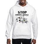 Stop Animal Abuse - Hooded Sweatshirt