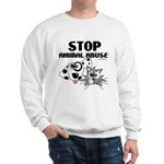 Stop Animal Abuse - Sweatshirt