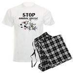 Stop Animal Abuse - Men's Light Pajamas