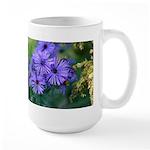 Blue Wildflowers Large Mug