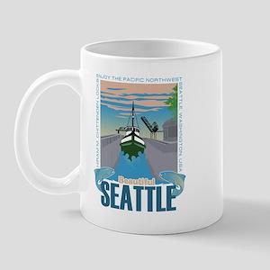 Beautiful Seattle Mug