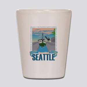 Beautiful Seattle Shot Glass