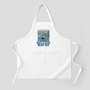 Beautiful Seattle Apron
