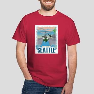 Beautiful Seattle Dark T-Shirt