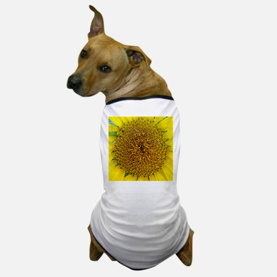 Sunflower Photograph Dog T-Shirt