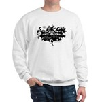 Rottweiler (Magic Swirl) Sweatshirt Lght
