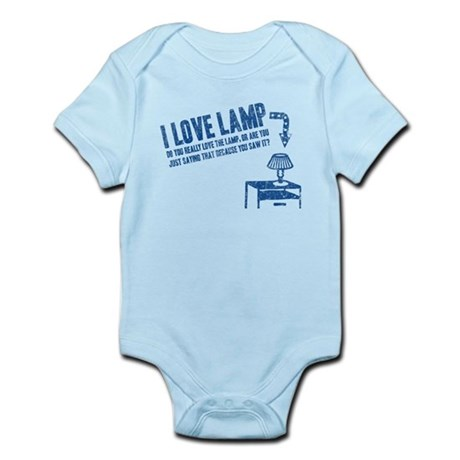 I Love Lamp Infant Bodysuit