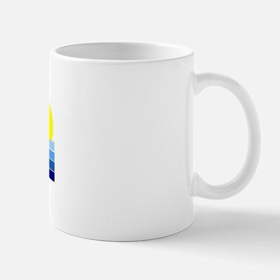 playadelcarmensunset Mugs