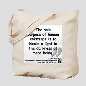 Jung Purpose Quote Tote Bag