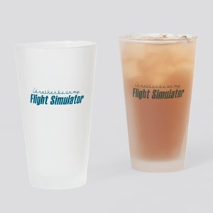 I'd rather be on my FS Drinking Glass