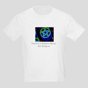 Pagan religious freedom Kids T-Shirt