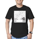 Scott's Hair (no text) Men's Fitted T-Shirt (dark)