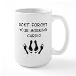 Morning Cardio Large Mug