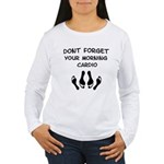 Morning Cardio Women's Long Sleeve T-Shirt