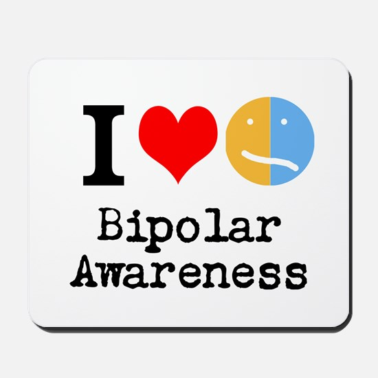 I <3 Bipolar Mousepad