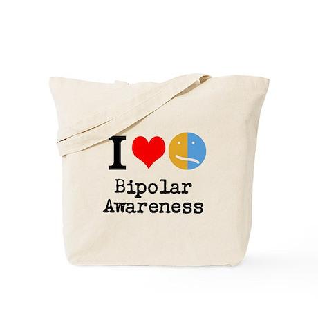 I <3 Bipolar Tote Bag