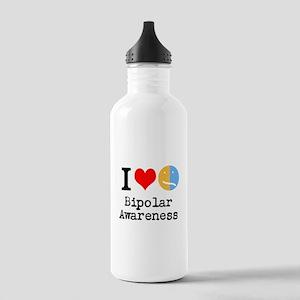 I <3 Bipolar Stainless Water Bottle 1.0L
