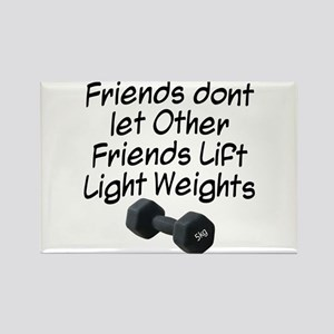 Friends dont let friends... Rectangle Magnet