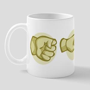 Roshambo Hands Mug
