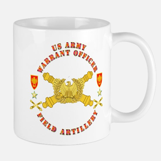 Warrant Officer - Field Artillery Mug