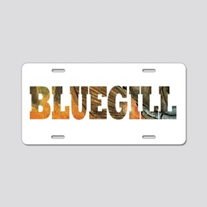 Bluegill Fishing Aluminum License Plate