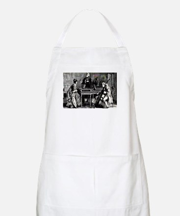Antique Chamber Music BBQ Apron
