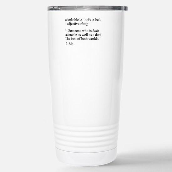 Adorkable - Me Stainless Steel Travel Mug