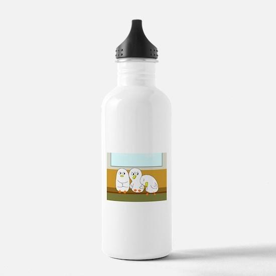 Tired Passenger Water Bottle