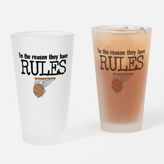 Reason for Rules Drinking Glass