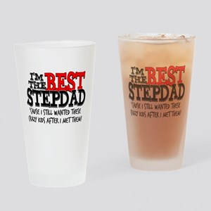 Best Stepfather Drinking Glass