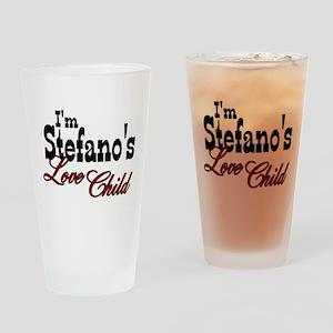 Stefano's Love Child Drinking Glass