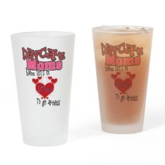 Lots of Love Daycare Moms Drinking Glass