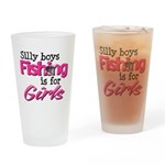 Silly Boys Drinking Glass