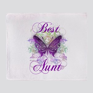 Best Aunt Throw Blanket