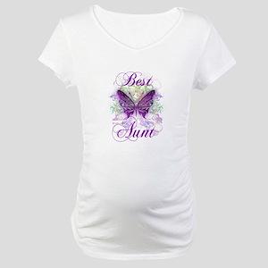 Best Aunt Maternity T-Shirt