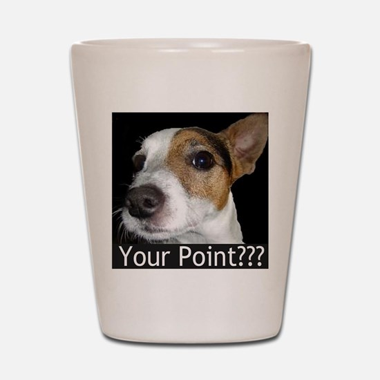 JRT Your Point? Shot Glass
