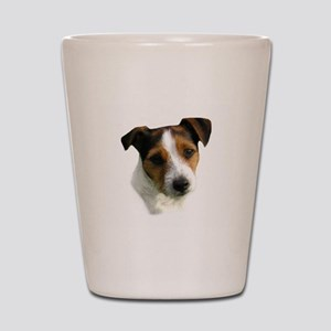 Jack Russell Watercolor Shot Glass