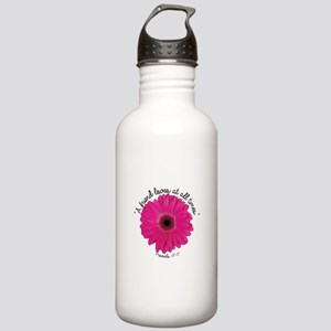 A Friend Loves at all Times Stainless Water Bottle