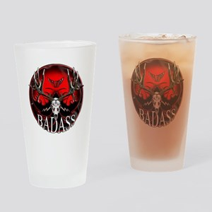 Club bad ass Drinking Glass