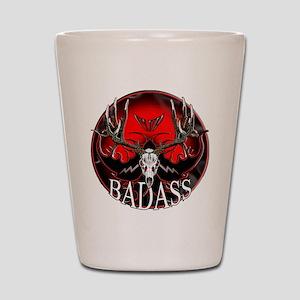 Club bad ass Shot Glass