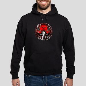 Club bad ass Hoodie (dark)